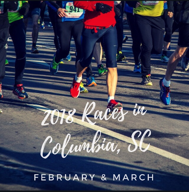 February & March Races in Columbia, SC